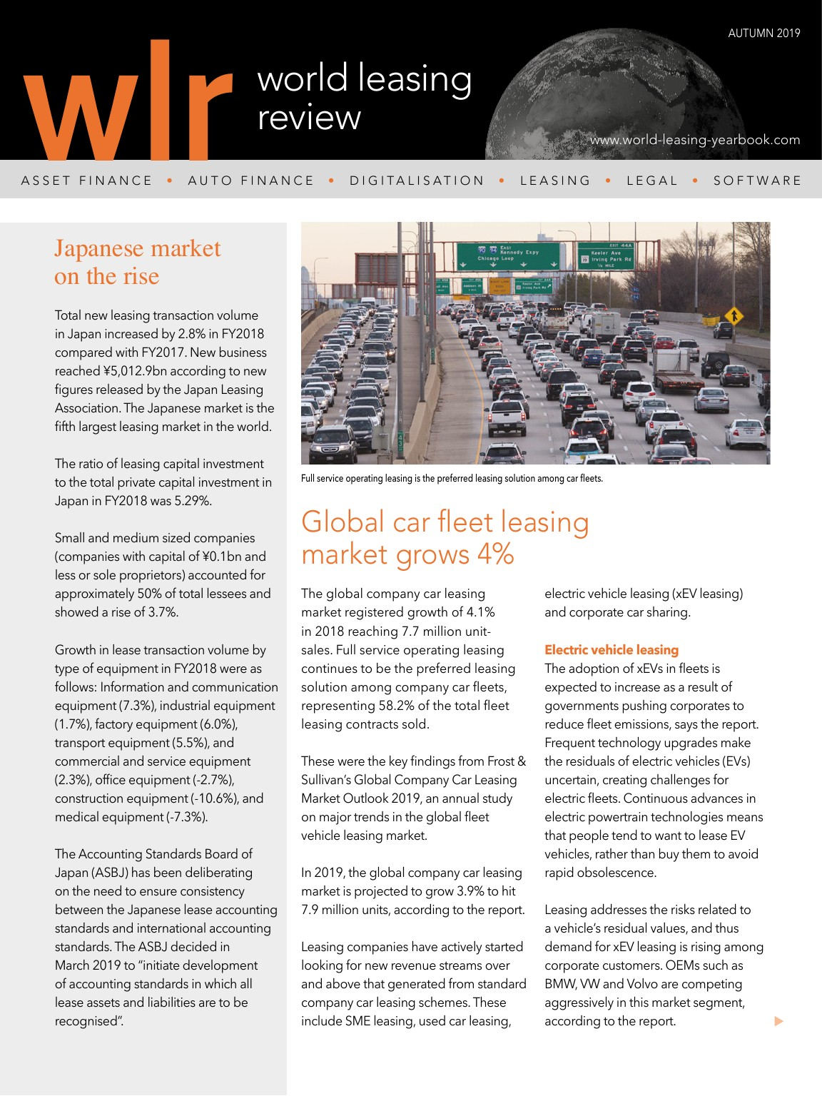 World Leasing Review Autumn 2019 Edition